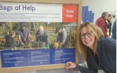 A BIG thank you to Tesco's Bags of Help community grant scheme