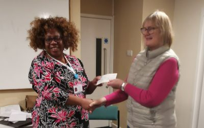 A big thank you to all the wonderful ladies of the Leigh-on-Sea Towns Women's Guild