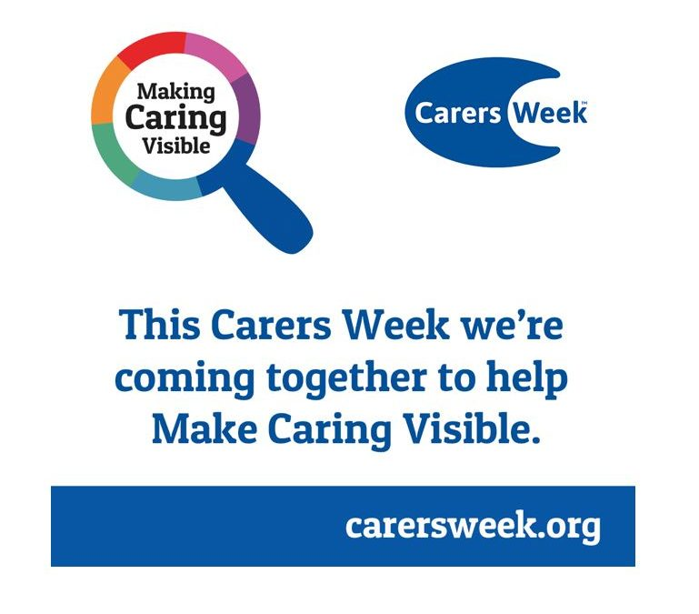 Carers week starts on June 8th