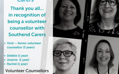 Thank you to our volunteer counsellors