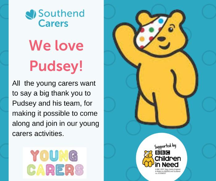 We love Pudsey