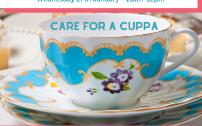 Care for a NEW YEAR Cuppa on Zoom – Wed. 27th Jan @11am