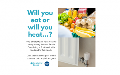 Eat or Heat – Young, Adult or Family Carer living in Southend