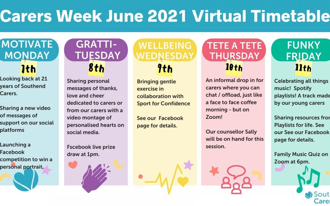 Carers Week – Starts Monday 7th June